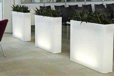 Mesas en fibra de vidrio arza - Maceta fibra de vidrio ...